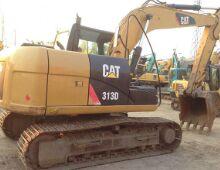 二手卡特313D挖掘机