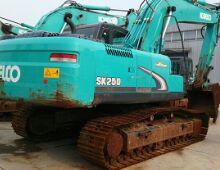 二手神钢250-8挖掘机