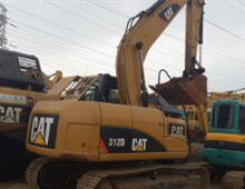 二手卡特312D挖掘机