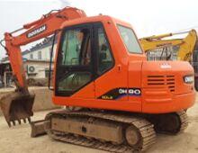 二手斗山DH80挖掘机