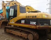 二手卡特320C挖掘机