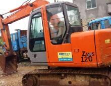 二手日立ZX120挖掘机