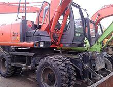 二手日立ZX130W挖掘机