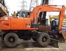 二手日立ZX160W挖掘机