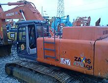 二手日立ZX470挖掘机