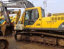 二手沃尔沃290挖掘机
