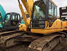 二手小松220-7挖掘机