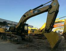 二手卡特345D挖掘机