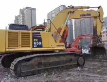 二手小松650挖掘机