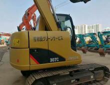 二手卡特307C挖掘机