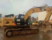 二手卡特323D2L挖掘机