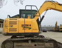 二手三一SY75-9挖掘机