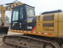 二手卡特329D挖掘机