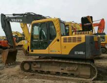 二手二手沃尔沃140挖掘挖掘机