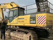 二手小松450-8挖掘机