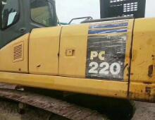 二手小松PC220-7挖掘机