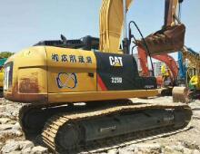 二手卡特325D挖掘机