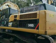 二手卡特349DL挖掘机