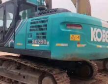 二手神钢SK260LC-8挖掘机